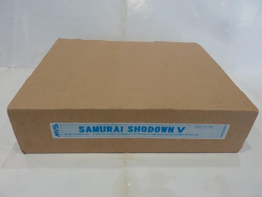 Samurai Shodown 5 avec Serial 000001, Fake ou pas Fake ? Samurai-shodown-v-mvs-full-kit