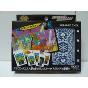 DRAGON QUEST 25TH ANNIVERSSARY  DOT MONSTER TRUMP PLAYING CARD