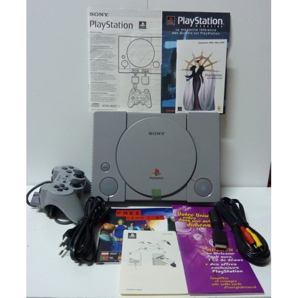 Console playstation pal new neuve dual shock playstation - Console playstation 2 neuve ...