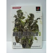 METAL GEAR SOLID 3 Jap LIMITED COLLECTION