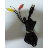CABLE RCA PC ENGINE/MEGADRIVE JAP