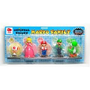 MARIO FAMILY FIGURE SET CLUB NINTENDO
