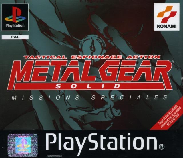 Métal gear solid: missions spéciales Metalgearsolidmissionsspe