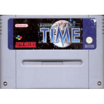 ILLUSION OF TIME (Cart. Seule)