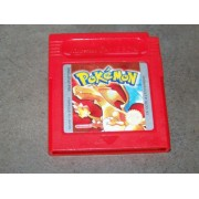 POKEMON ROUGE (cart. seule, Pile ok)