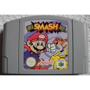 SUPER SMASH BROS 64 Pal (cart. seule)