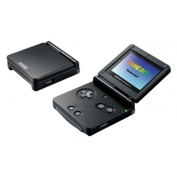 GBA SP Noire + chargeur