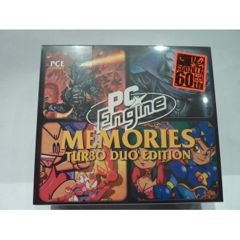 PC ENGINE MEMORIES Coffret Limité 2 (Dynastic Heroe, Dungeon Explorer 2, PC kid 3, Godzilla))