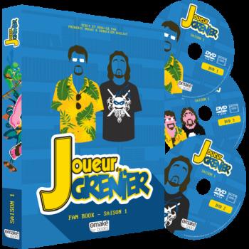 JOUEUR DU GRENIER Fan Book Saison 1
