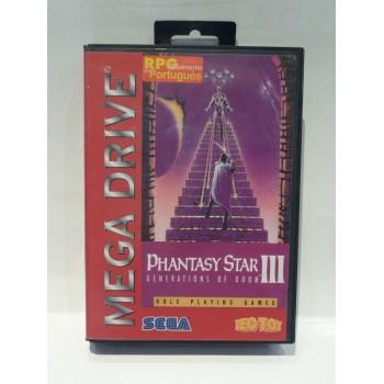 PHANTASY STAR III TecToy Bresil Version