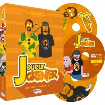 JOUEUR DU GRENIER Fan Book Saison 3