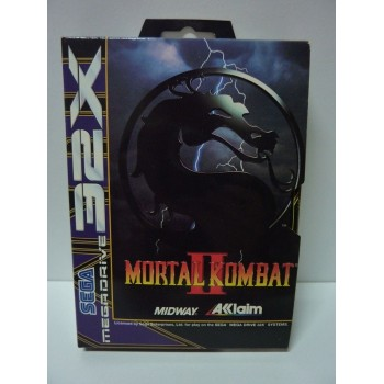 MORTAL KOMBAT II 32x pal