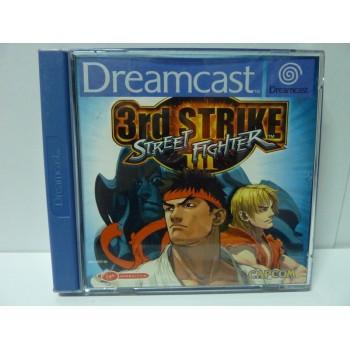 STREET FIGHTER III THIRD STRIKE pal (excellent état)