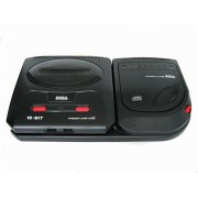 Combo MEGA CD 2 plus MEGADRIVE 2