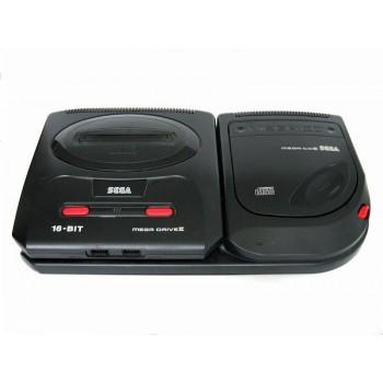 Combo MEGA CD 2 plus MEGADRIVE 2 avec sonic et road avenger