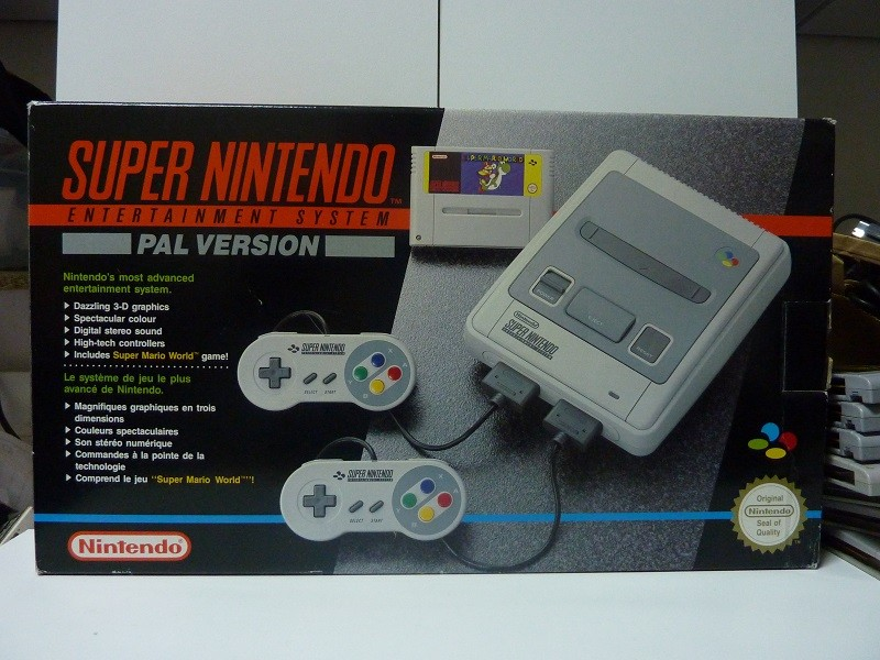 reference pack SNES PAL VERSION Super Mario World Super-nintendo-super-mario-world-pack
