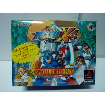 ROCKMAN X4 Special Limited Pack (Neuf/New)