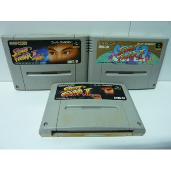 LOT STREET FIGHTER 2, 2 TURBO, SUPER