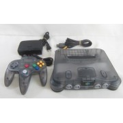 NINTENDO 64 CLEAR Black Pal