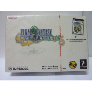 Neuf - FINAL FANTASY CRYSTAL CHRONICLES Coffret + Cable Link