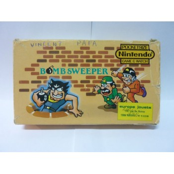 BOMB SWEEPER POCKETSIZE Game & Watch Complet