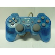 PAD Playstation Clear Blue Dual Shock (très bon état)
