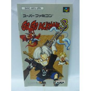 NOTICE DE GOGO ACKMAN 3