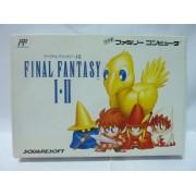 FINAL FANTASY I & II Famicom (très bon état)
