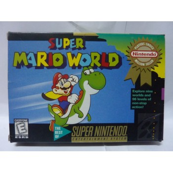 SUPER MARIO WORLD Usa Complet Player's Choice