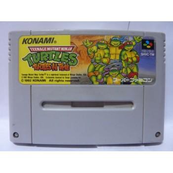 TMNT : TURTLES IN TIME jap (cart. seule)