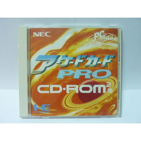 ARCADE CARD PRO (pc engine, core, sgx, lt)