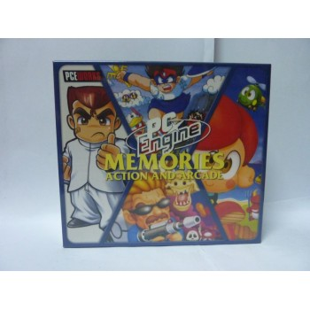 COFFRET PC ENGINE MEMORIES : ACTION AND ARCADE