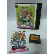 METAL SLUG 2nd mission jap (insert photocopie, jeu et notice original)