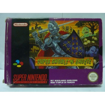 SUPER GHOULS 'N GHOSTS Pal Fah Complet (Boite usée)