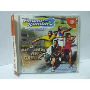 POWER SMASH 2 avec spincard (Virtua Tennis 2) (Avec spin)