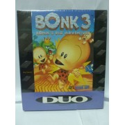 BONK 3 PC KID 3 Brand New Sealed Duo Pc Engine Hu Card Usa
