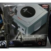 Console GAMECUBE RESIDENT EVIL 4 (boite usée)