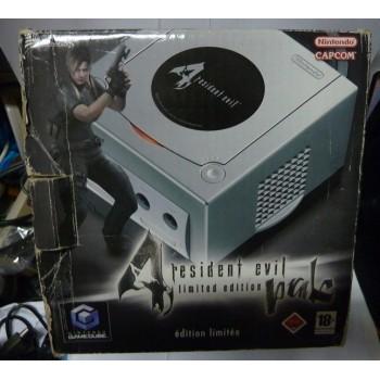 Console GAMECUBE RESIDENT EVIL 4 (Pad Gris)