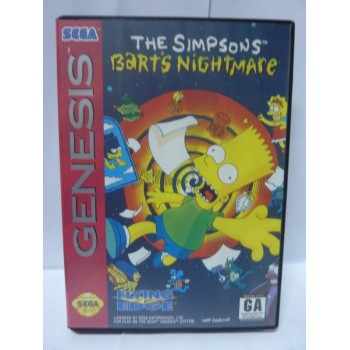 THE SIMPSONS BARTS NIGHTMARE usa