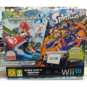 Console WII U PREMIUM PACK 32 Go + MARIO KART 8 + SPLATOON