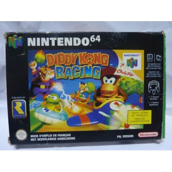 DIDDY KONG RACING Pal complet