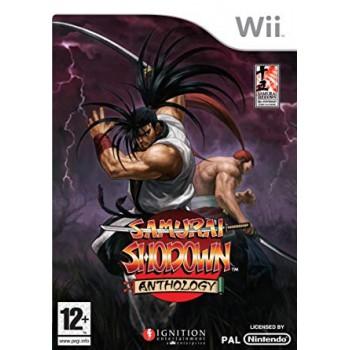 SAMURAI SHODOWN ANTHOLOGY Pal Wii