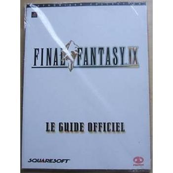 """FINAL FANTASY IX """"Guide Officiel"""""""