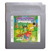 Bart Simpsons Escape From Camp Deadly (cart. seule)