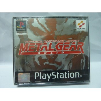 METAL GEAR SOLID Neuf sous blister Brand New
