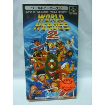 WORLD HEROES 2 sfc
