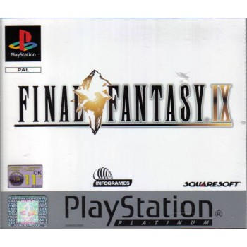 FINAL FANTASY IX Platinum Edition (sans notice)