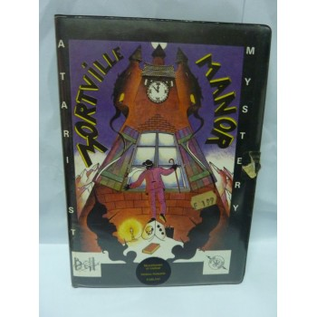 LE MANOIR DE MORTEVILLE Atari St (1ère edition)