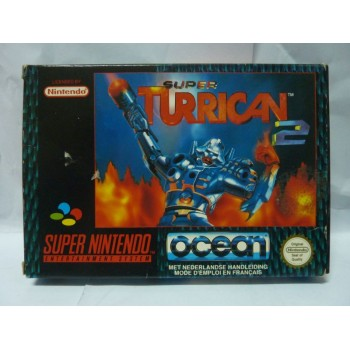 SUPER TURRICAN 2 Pal complet