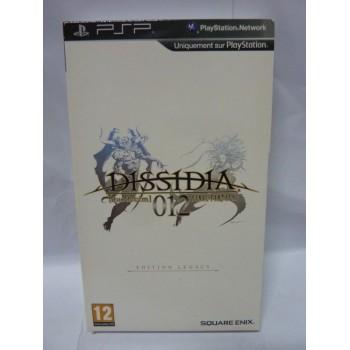 DISSIDIA 012 FINAL FANTASY Edition Legacy coffret